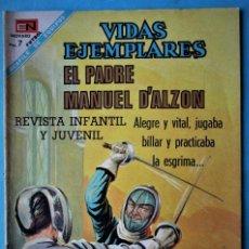 Tebeos: VIDAS EJEMPLARES Nº 268 - EL PADRE MANUEL D'ALZON - NOVARO 1968 ''BUEN ESTADO'' . Lote 186033040