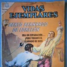 Tebeos: VIDAS EJEMPLARES Nº 212 - BEATO BERNARDO DE CORLEÓN - NOVARO 1966. Lote 186033065