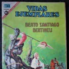 Tebeos: VIDAS EJEMPLARES Nº 240 - BEATO SANTIAGO BERTHIEU - NOVARO 1967. Lote 186033118
