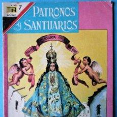 Tebeos: PATRONOS Y SANTUARIOS Nº 18 - NTRA. SRA. DE SAN JUAN DE LOS LAGOS - NOVARO 1967. Lote 186033251