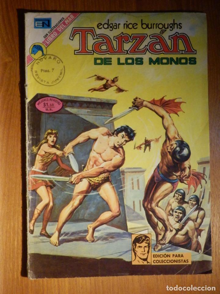 TEBEO - COMIC - TARZAN DE LOS MONOS - AÑO XXIII Nº 346 - NOVARO (Tebeos y Comics - Novaro - Tarzán)