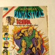 Tebeos: MÉXICO NOVARO RARÍSIMO, HISTORIAS FANTÁSTICAS Nº2-373 1980, SERIE ÁGUILA. Lote 186122161