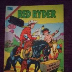 Tebeos: RED RYDER NOVARO. Lote 186169207