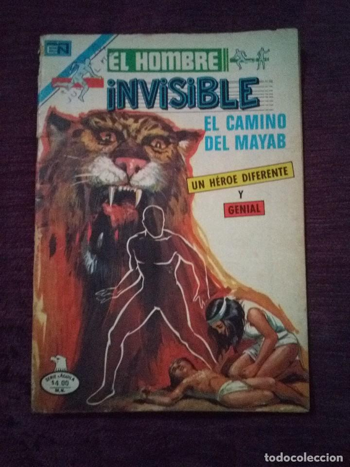 EL HOMBRE INVISIBLE NOVARO (Tebeos y Comics - Novaro - Otros)