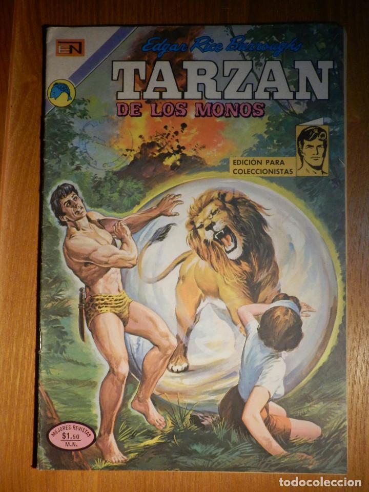 COMIC - TARZAN DE LOS MONOS - AÑO XXIII Nº 331 - NOVARO (Tebeos y Comics - Novaro - Tarzán)