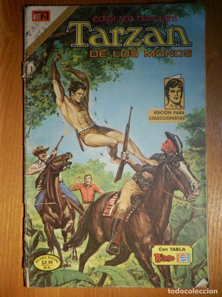 COMIC - TARZAN DE LOS MONOS - AÑO XXIV Nº 427 - 6 DE ENERO DE 1975 - NOVARO (Tebeos y Comics - Novaro - Tarzán)