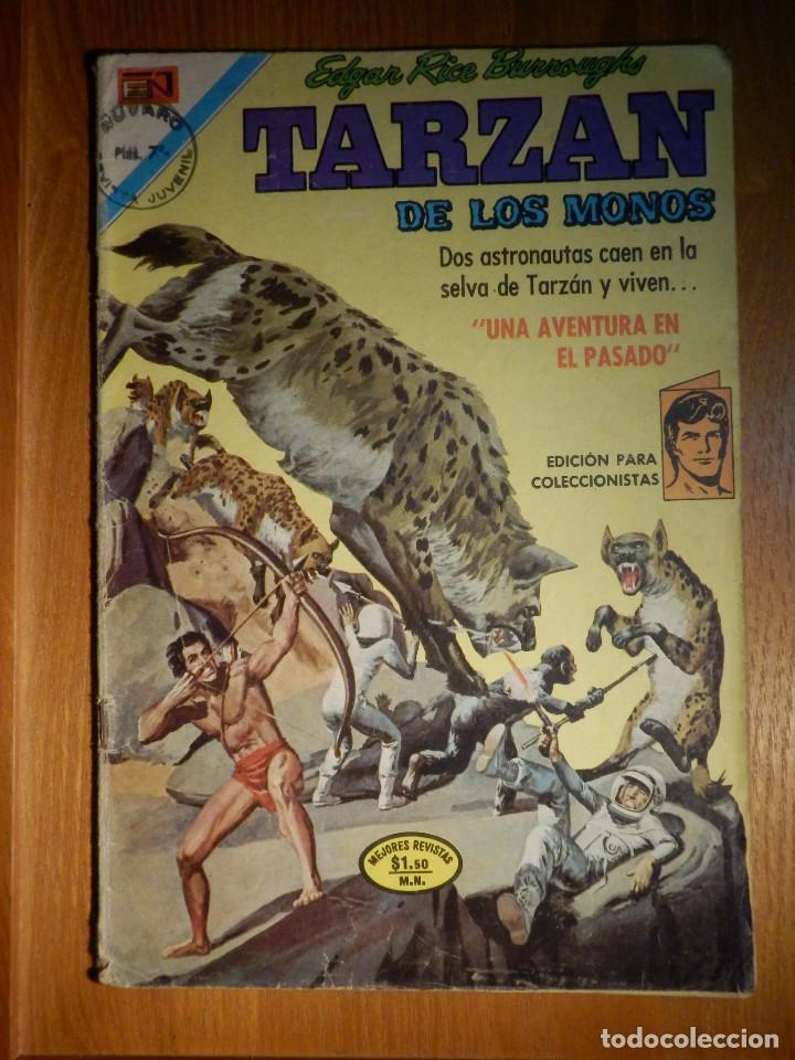 COMIC - TARZAN DE LOS MONOS - AÑO XXI Nº 285- 6 DE ENERO DE 1972 - NOVARO (Tebeos y Comics - Novaro - Tarzán)