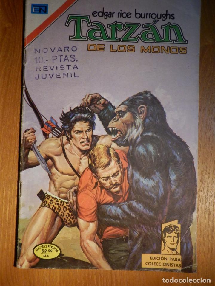 COMIC - TARZAN DE LOS MONOS - AÑO XXIV Nº 404 - 3 DE AGOSTO DE 1974 - NOVARO (Tebeos y Comics - Novaro - Tarzán)