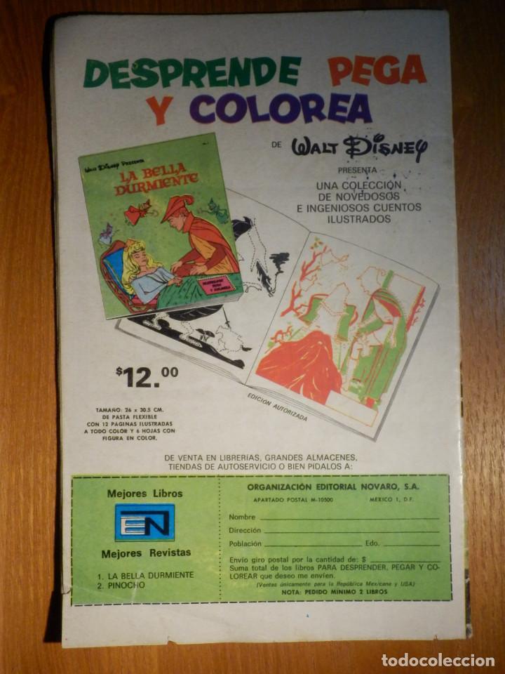 Tebeos: Comic - Tarzan de los Monos - Año XXIV nº 404 - 3 de Agosto de 1974 - Novaro - Foto 2 - 186280305
