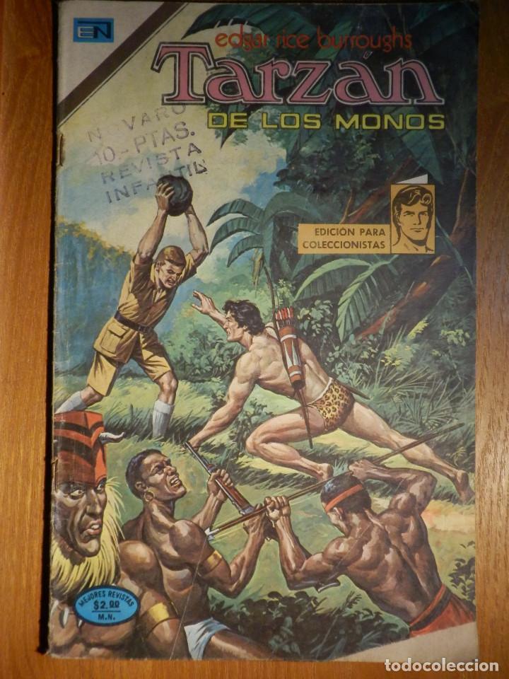 COMIC - TARZAN DE LOS MONOS - AÑO XXIV Nº 417 - 19 DE NOVIEMBRE DE 1974 - NOVARO (Tebeos y Comics - Novaro - Tarzán)