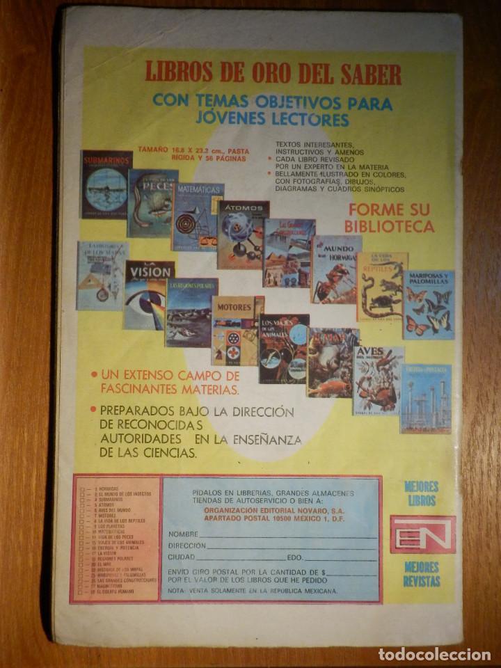 Tebeos: Comic - Tarzan de los Monos - Año XXIV nº 417 - 19 de Noviembre de 1974 - Novaro - Foto 2 - 186280337