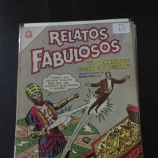 Tebeos: NOVARO RELATOS FABULOSOS NUMERO 78 NORMAL ESTADO . Lote 186301470