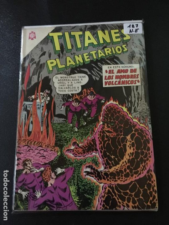 NOVARO TITANES PLANETARIOS NUMERO 187 NORMAL ESTADO (Tebeos y Comics - Novaro - Sci-Fi)