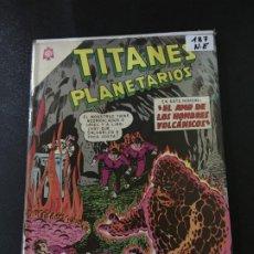 Tebeos: NOVARO TITANES PLANETARIOS NUMERO 187 NORMAL ESTADO . Lote 186301992