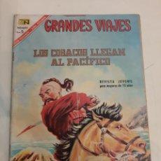 Tebeos: 1967 NOVARO LOS COSACOS LLEGAN AL PACÍFICO. Lote 186303501