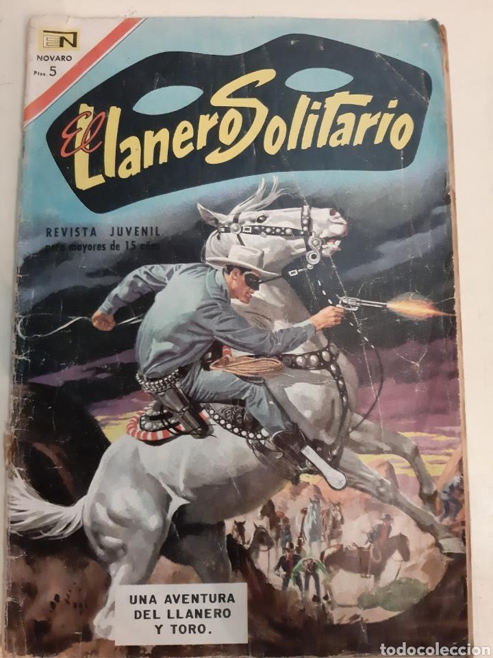 1967 EL LLANERO SOLITARIO NOVATO 175 AÑO XV (Tebeos y Comics - Novaro - El Llanero Solitario)