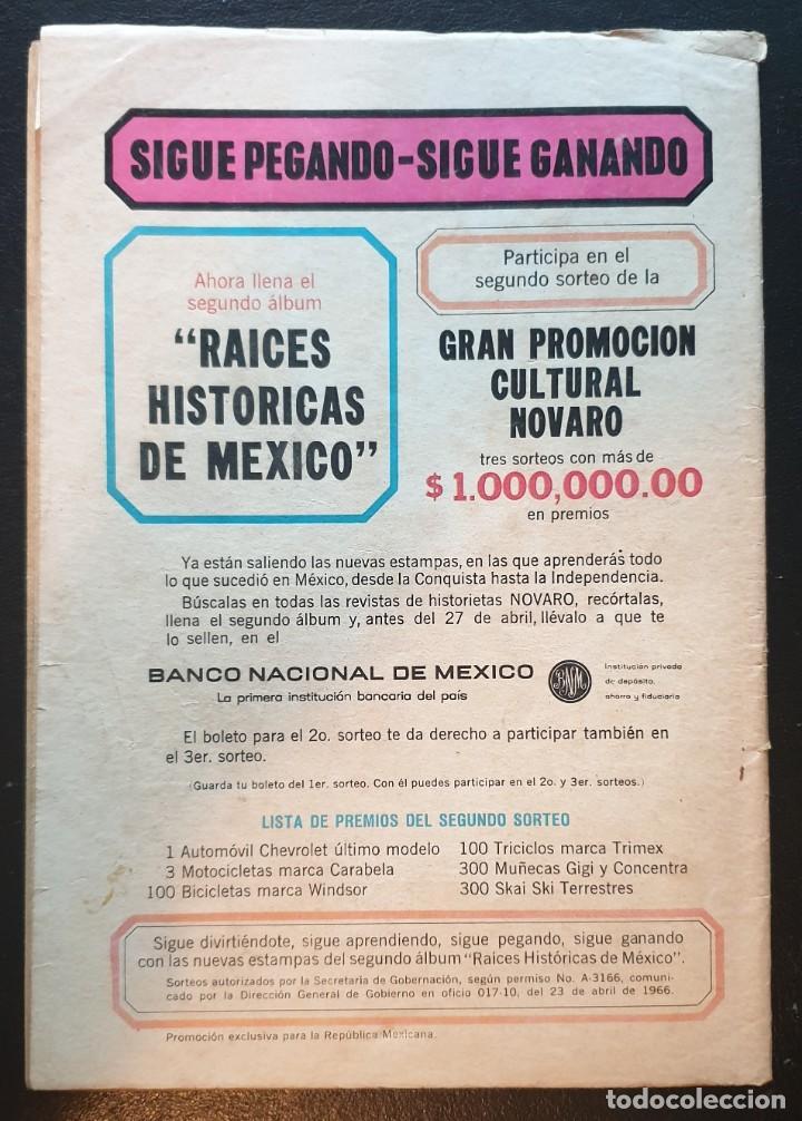 Tebeos: PERIQUITA nº 73 CARLITOS. Editorial Novaro 1967 - Foto 2 - 186326042