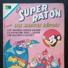Tebeos: EL SUPER RATON Nº 210. EDITORIAL NOVARO 1970. Lote 186328465