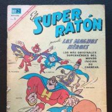 Tebeos: EL SUPER RATON Nº 181. EDITORIAL NOVARO 1967. Lote 186329152