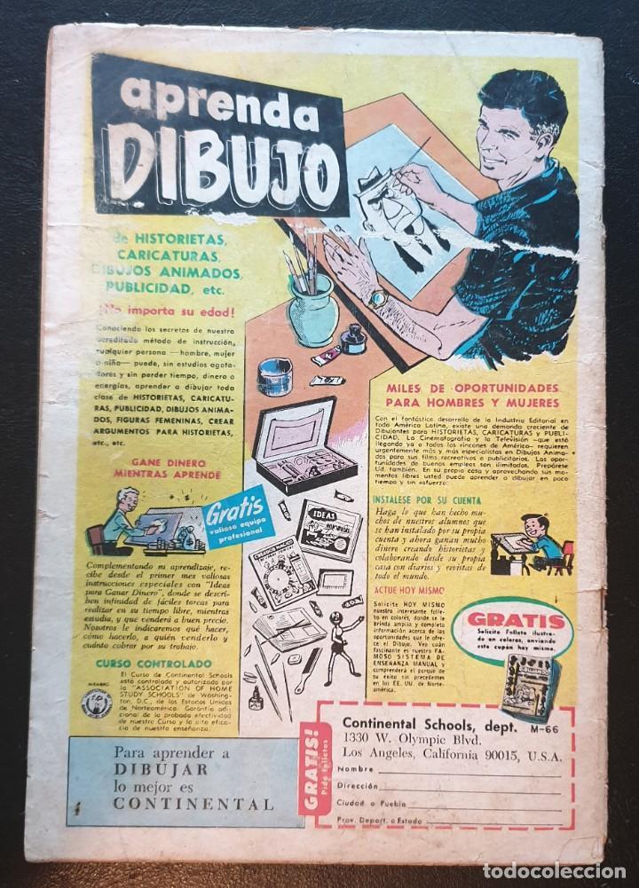 Tebeos: EL SUPER RATON nº 181. Editorial Novaro 1967 - Foto 2 - 186329152