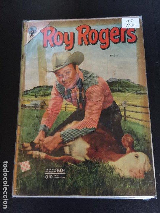 NOVARO ROY ROGERS NUMERO 10 REGULAR ESTADO (Tebeos y Comics - Novaro - Roy Roger)