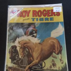 Tebeos: NOVARO ROY ROGERS NUMERO 115 NORMAL ESTADO. Lote 186339690