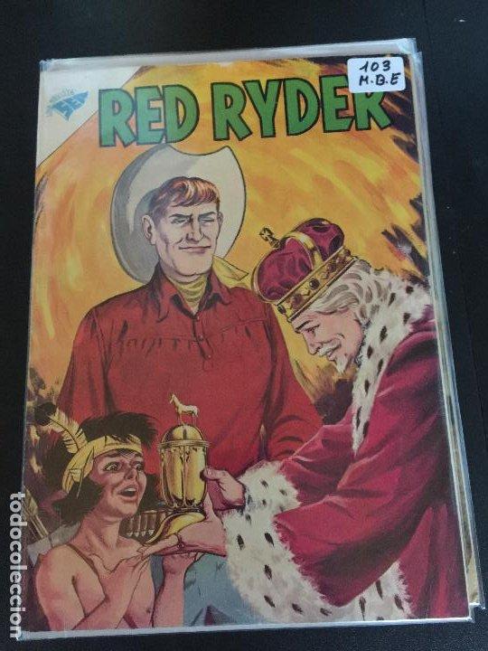 NOVARO RED RYDER NUMERO 103 MUY BUEN ESTADO (Tebeos y Comics - Novaro - Red Ryder)