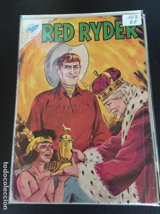 NOVARO RED RYDER NUMERO 103 BUEN ESTADO (Tebeos y Comics - Novaro - Red Ryder)