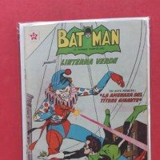 Tebeos: BATMAN-Nº 128-NOVARO-EXCELENTE ESTADO-1958. Lote 186375043