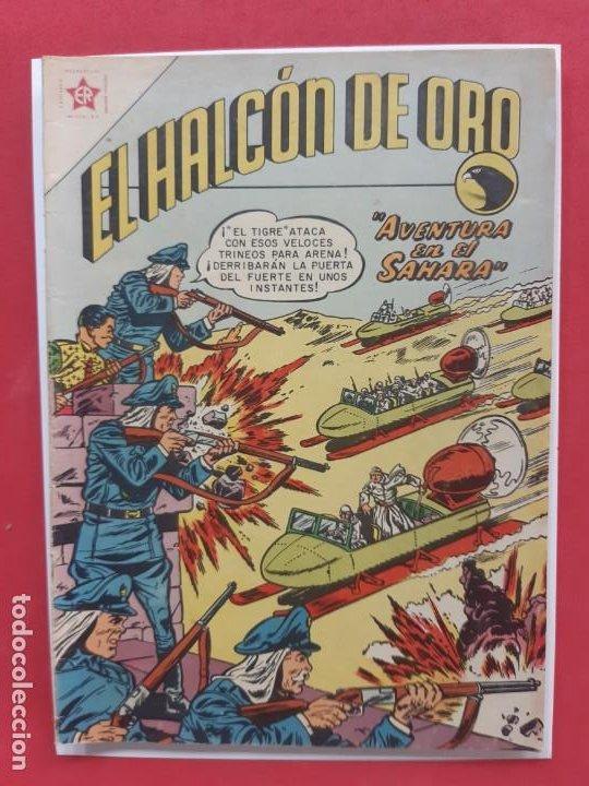 EL HALCON DE ORO Nº 2 NOVARO EXCELENTE ESTADO (Tebeos y Comics - Novaro - Sci-Fi)