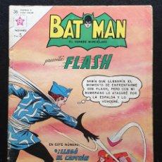 Tebeos: BATMAN Nº 188 FLASH. EDITORIAL NOVARO 1963. Lote 186393117