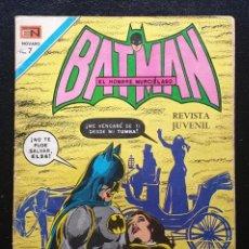 Tebeos: BATMAN Nº 600. EDITORIAL NOVARO 1971. Lote 186394676