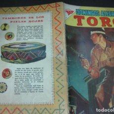 Tebeos: DOMINGOS ALEGRES. TORO. Nº 216 . MAYO 1958.. Lote 206987613