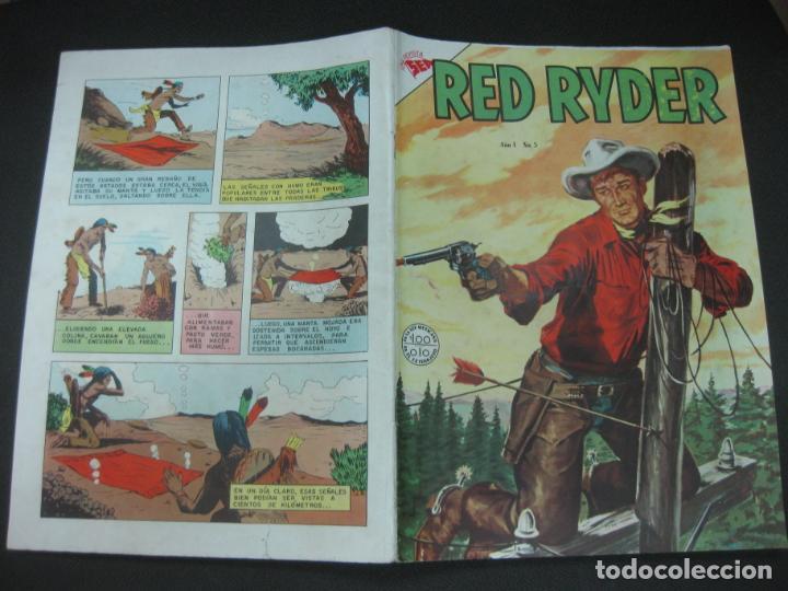 RED RYDER Nº 5. 1 MARZO 1955. NOVARO. BUEN ESTADO. (Tebeos y Comics - Novaro - Red Ryder)