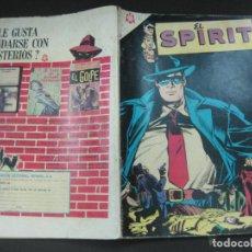 Tebeos: EL SPIRIT Nº 2. 1 JULIO 1966. EDITORIAL NOVARO.. Lote 187409273