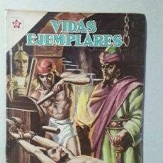 Tebeos: VIDAS EJEMPLARES N° 147 - SANTIAGO APÓSTOL - ORIGINAL EDITORIAL NOVARO. Lote 213472773