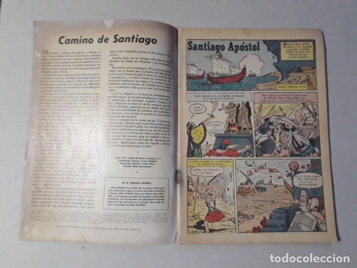 Tebeos: Vidas ejemplares n° 147 - Santiago apóstol - original editorial Novaro - Foto 2 - 213472773