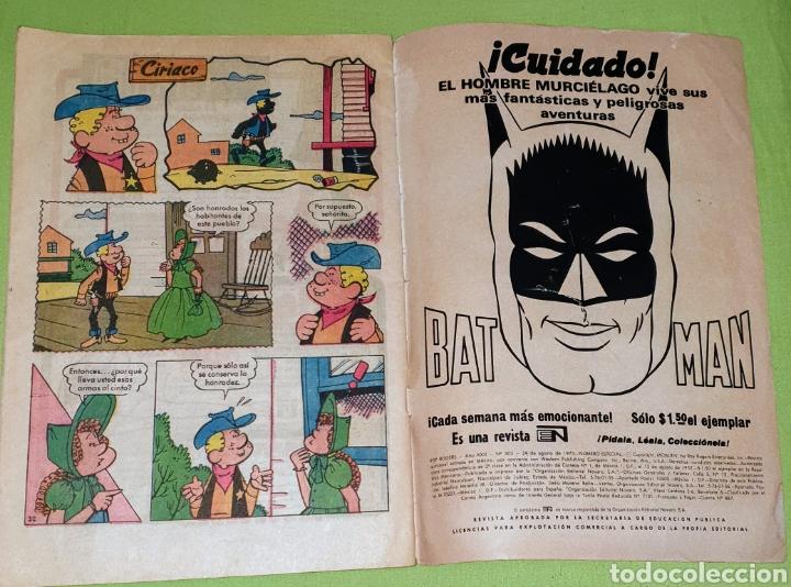 Tebeos: Comic Roy Rogers Editorial Novaro n.° 303 agosto 1973 - Foto 3 - 187412356
