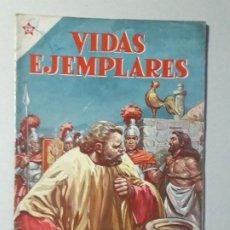 Tebeos: VIDAS EJEMPLARES N° 105 - SAN PEDRO APÓSTOL - ORIGINAL EDITORIAL NOVARO. Lote 187412451