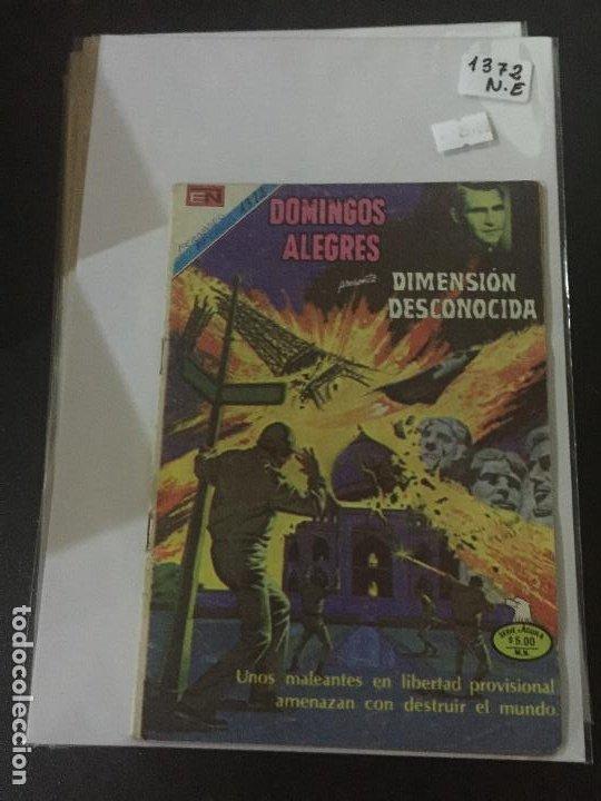 NOVARO DOMINGOS ALEGRES SERIE AGUILA NUMERO 1372 NORMAL ESTADO (Tebeos y Comics - Novaro - Sci-Fi)