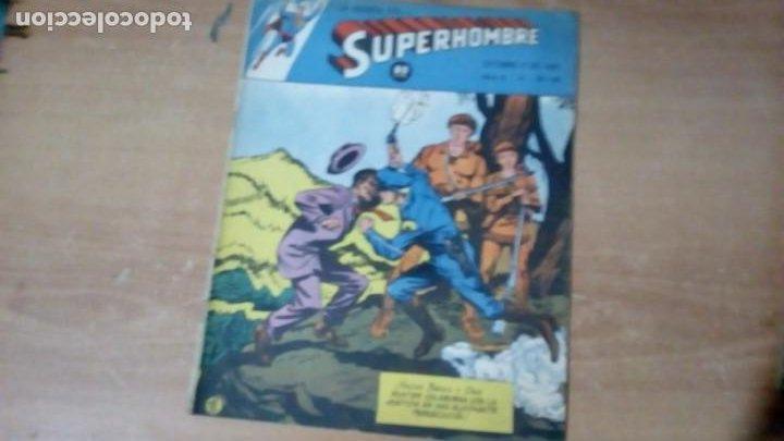 SUPERHOMBRE N.92 SUPERHEROES DC GRAN OFERTA NAVIDAD MUCHNIK 1951 DC/ (Tebeos y Comics - Novaro - Superman)