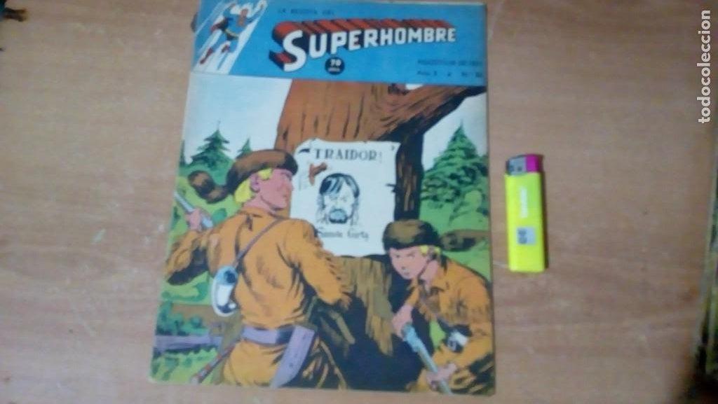SUPERHOMBRE N.86 SUPERHEROES DC GRAN OFERTA NAVIDAD MUCHNIK 1951 DC/ (Tebeos y Comics - Novaro - Superman)