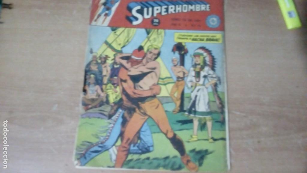 SUPERHOMBRE N.76 SUPERHEROES DC GRAN OFERTA NAVIDAD MUCHNIK 1951 DC/ (Tebeos y Comics - Novaro - Superman)