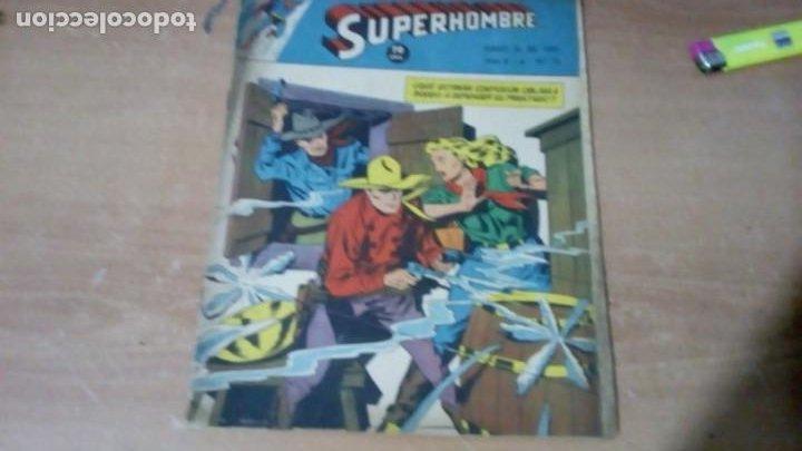 SUPERHOMBRE N.77 SUPERHEROES DC GRAN OFERTA NAVIDAD MUCHNIK 1951 DC/ (Tebeos y Comics - Novaro - Superman)