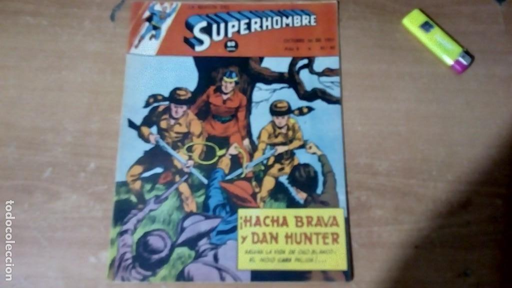 SUPERHOMBRE N.95 SUPERHEROES DC GRAN OFERTA NAVIDAD MUCHNIK 1951 DC/ (Tebeos y Comics - Novaro - Superman)