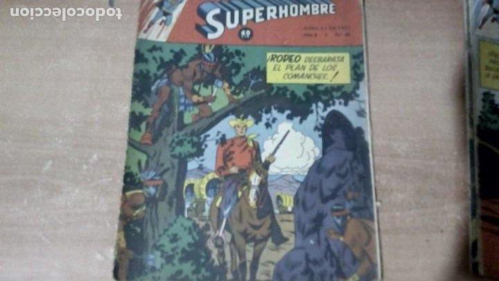 SUPERHOMBRE N.68 SUPERHEROES DC GRAN OFERTA NAVIDAD MUCHNIK 1951 DC/ (Tebeos y Comics - Novaro - Superman)
