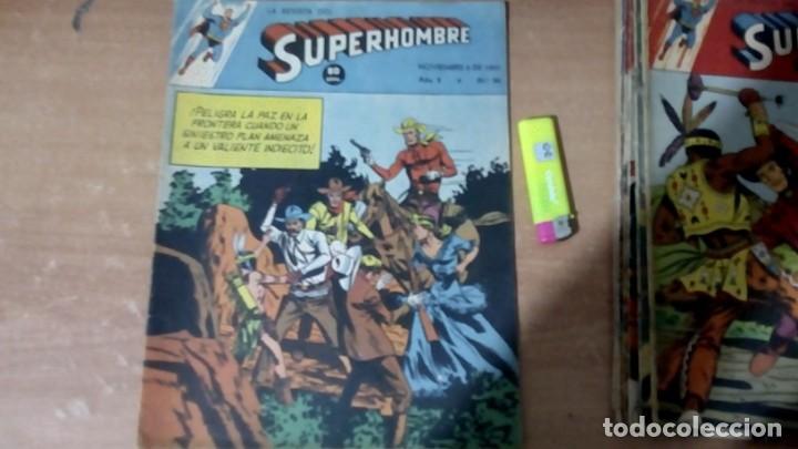 SUPERHOMBRE N.96 SUPERHEROES DC GRAN OFERTA NAVIDAD MUCHNIK 1951 DC/ (Tebeos y Comics - Novaro - Superman)