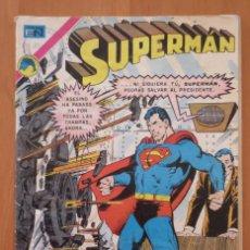Tebeos: SUPERMAN Nº 896 NOVARO. Lote 188582361