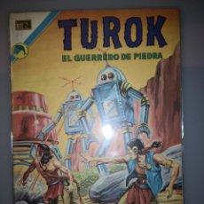 Tebeos: TUROK EL GUERRERO DE PIEDRA Nº 44 BUEN ESTADO. Lote 189236443