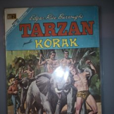 Tebeos: TARZAN PRESENTA KORAK KORAK ES APRESADO POR UNOS HOTENTONES EN PAL-UL-DON 197 NOVARO. Lote 189310742